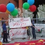 Adelanto fotográfico del Pasacalles de ayer (16.09.2011) en el barrio.