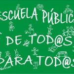 """Educación del distrito de Barajas(D21) quieren que sepas que """"La educación publica está en peligro"""""""