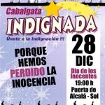 Cabalgata indignada. Miercoles 28 D. 19:00 Puerta Alcala