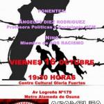 Charla-Coloquio sobre la crisis de los refugiados. Viernes 16 Octubre. 19:30 Gloria Fuertes.
